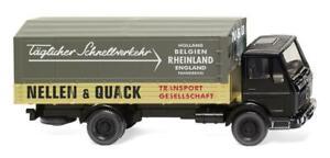 WIKING-043702-Flatbed-Truck-MB-NG-034-Nellen-amp-Quack-034-Car-Model-1-87-H0