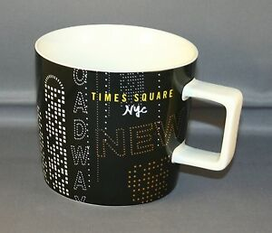 About York Times Square 14 OzMug Collectors Starbucks New Details Nwt OiXZkuP