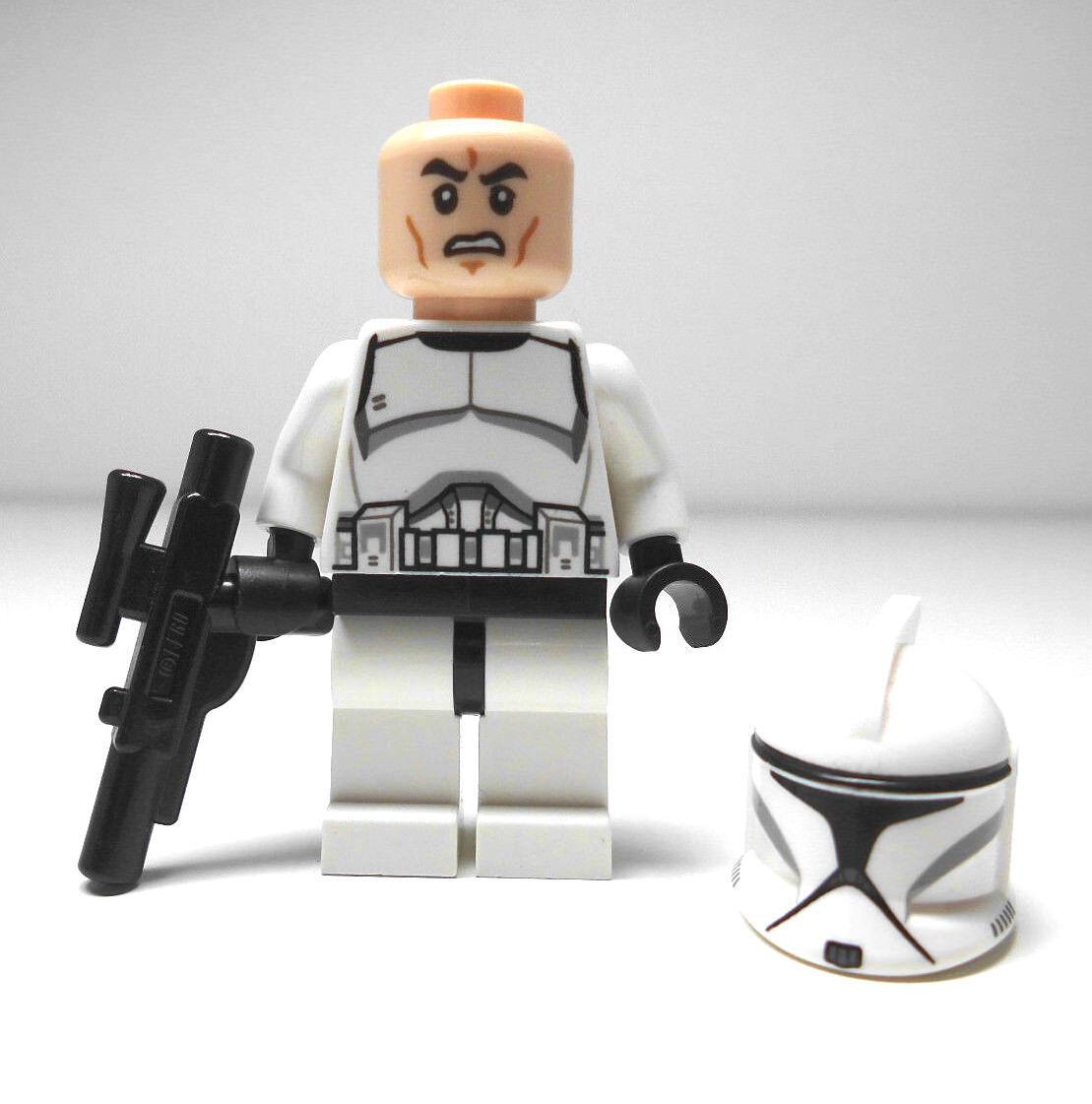 LEGO STAR WARS Personnage Clone Soldat Neuf 75000 75015 75016 s'adapte 8014 8018 | Brillance De Couleur