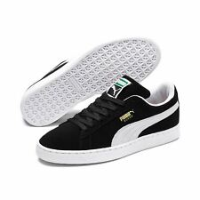 Puma Suede Classic Black White Mens Womens Shoes Sneakers