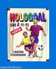 Bustina/Packet - figurine-Stickers - HOLOGOAL 1991-92 - Piena -New