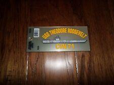 Sticker USS Theodore Roosevelt Decal