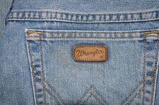 Vintage Wrangler Ohio blue jeans W 32 L 32 zip fly