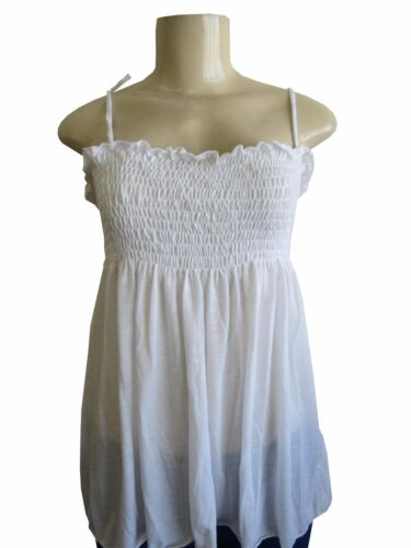 BAIK-322 Women Cotton Baby Doll Top with String Strap