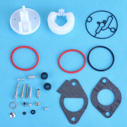 Carburateur Rebuild Kit pour Briggs /& Stratton Master Overhaul Nikki 796184 Carb