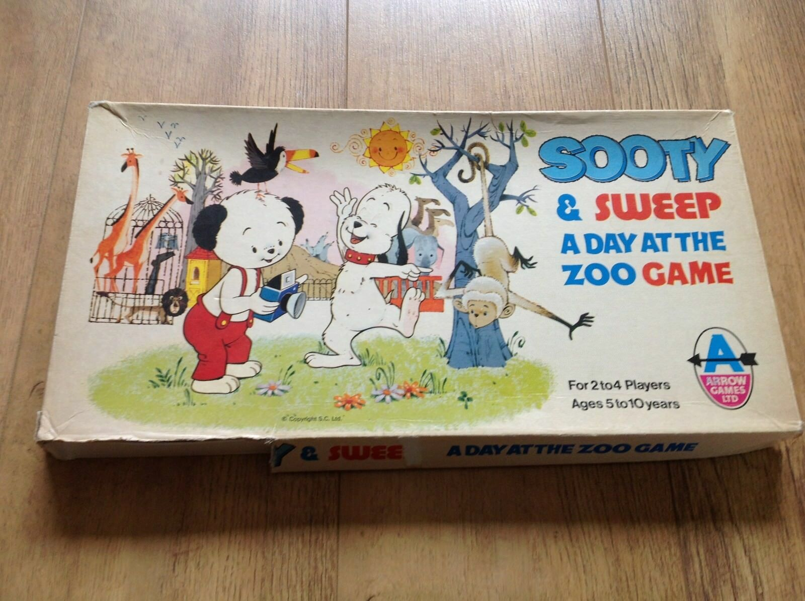 Sooty and Sweep - A day at the zoo game (Arrow Games Ltd)
