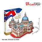 ST Paul's Cathedral (UK) CubicFun 3D Puzzle Paper Model DIY Jigsaw Toys MC117h