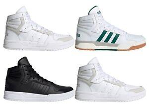 Scarpe da uomo Adidas sneakers alte sportive tennis ginnastica palestra scuola