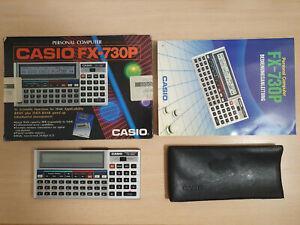 Pocket personal computer Casio fx-730p/8 KB, Basic Calculator #810