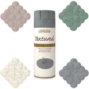 Rust Oleum Stone Textured Spray Paint Granite Pebble Black Green