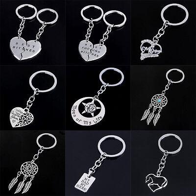 Gifts For Mom Dad Grandma Key Ring Keychain Pendant Charm Jewelry Key Chains