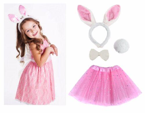 Kids ANIMAL FANCY DRESS TUTU COSTUME Party Book Week Day Outfit Girls Teens UK