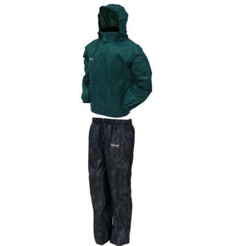 NEW FROGG TOGGS AS1310-109 All Sport combinaison pluie Vert//Noir XL