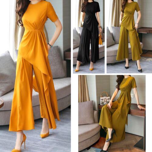 Asimmetrica Donna Set Pantaloni Woman Setwom01 Pants Maglia Completo Larghi P wPIqWZ