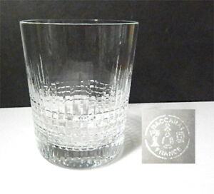 Baccarat-Crystal-NANCY-2-3-4-034-WHISKEY-Glass-Tumbler-s-Mint