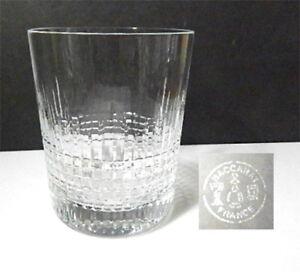 Baccarat-Crystal-NANCY-2-3-4-034-WHISKEY-Glass-Tumbler-s-Mint