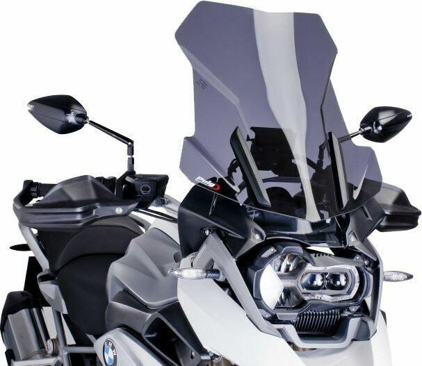Puig Windscreen Touring Dark Smoke BMW R1200GS 2013-2017 6486F
