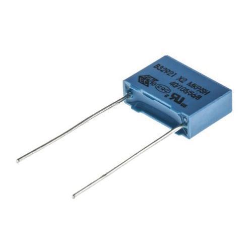a través de agujero 305V AC 10 X Epcos 10nF B32921C3103M189 Condensador de polipropileno