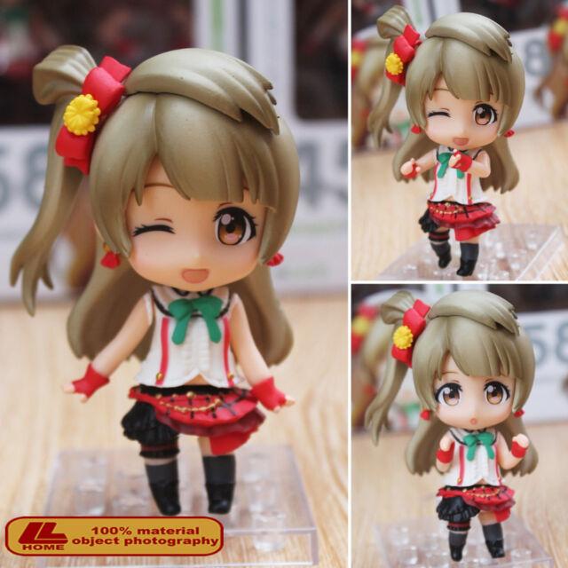 "Anime Love Live! Kotori Minami Nendoroid 458 4"" Action Figure FaceChange Toy NIB"