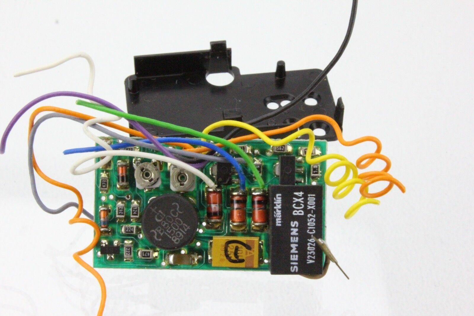 Märklin 61431 Decoder Umschalter lastgeregelt für die Umrüstung