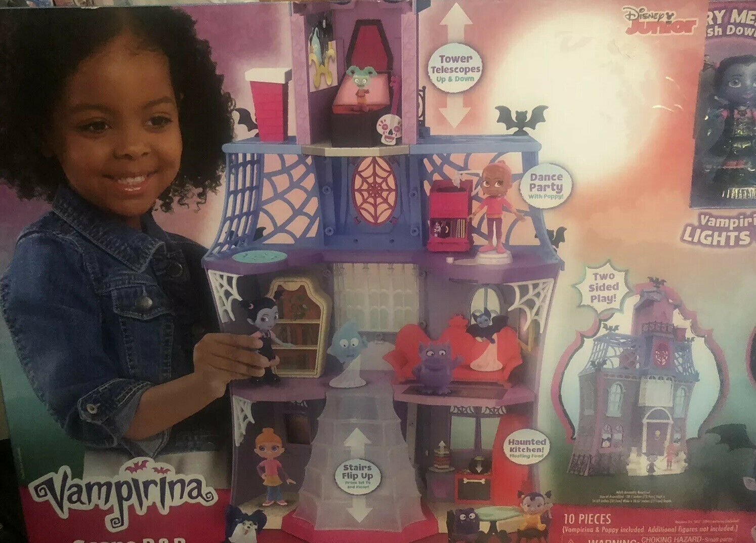 NEW Vampirina Scare B&B Playset Kids Dollhouse Girls Play Set Tower Doll House