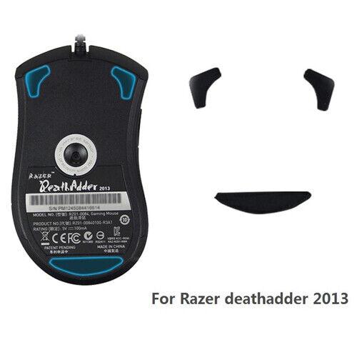 1//2//4 Set Mice Skates Mouse Feet For Razer Deathadder Gaming Mouse Teflon 0.6mm