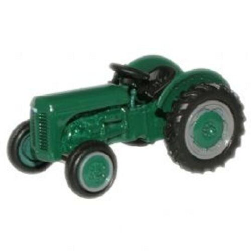 emerald green N scale farm tractor Ferguson
