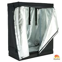 48x24x60 Indoor Grow Tent Room Reflective 600d Mylar Hydroponic Non Toxic Hut