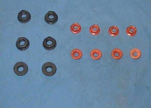 Muttern 16V G60 2E Hosenrohr Auspuffkrümmer Auspuffmuttern Schrauben