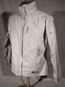 Women's REI Elements Lightweight Waterproof Seam Rain Jacket Size L