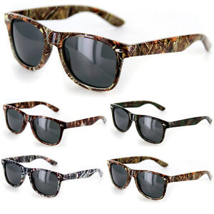 0b9d366c54d Mossy Oak Style Camo SUNGLASSES Real CAMOUFLAGE Tree HUNTING OUTDOOR ...