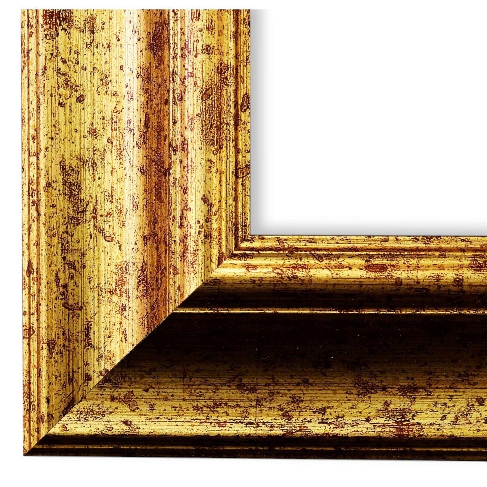 Bilderrahmen Acta Gold gemasert - DIN A0 DIN A1 DIN A2 DIN A3 DIN A4 DIN A5
