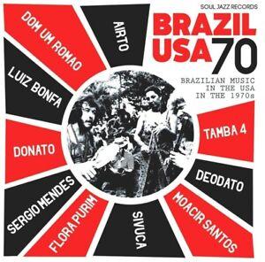 Soul-Jazz-Records-presenta-Brasil-EE-UU-70-2-Vinilo-Lp-MP3-Nuevo