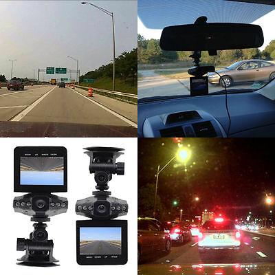 "Hot 2.5"" 270°LCD HD DVR Car Camera 6 LED IR Traffic Digital Video Recorder LO"