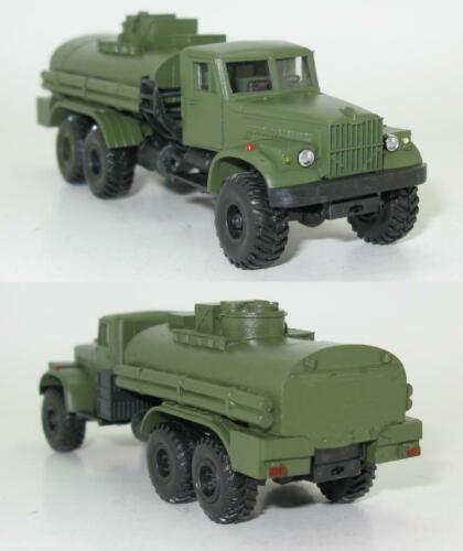 KRAZ-255B TZ-8 Tankwagen Treibstoffwagen Militär NVA UdSSR 1:87 HO