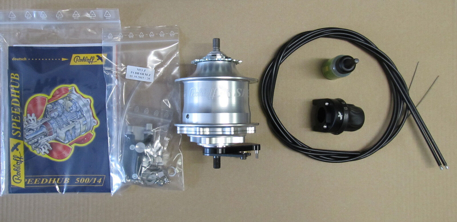 Rohloff Speedhub 500 14 TS DB OEM2 8065Z 8066Z 8067Z 14-Speed Internal Gear Hub