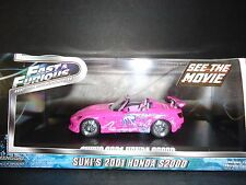 Greenlight Honda S2000 Suki's Car Pink Fast and Furious 1/43 Limited Edition