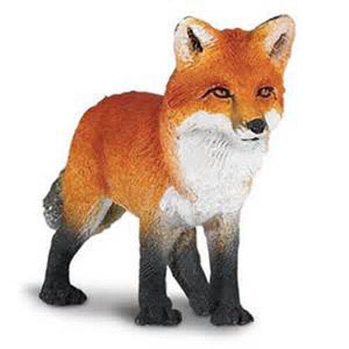 WOOD BADGE PLASTIC FOX FIGURINE  WOODBADGE