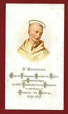 SANTINO SAN BERNARDO  IMAGE PIEUSE - HOLY CARD- Heiligenbild
