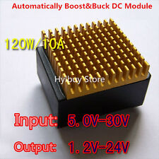 2 in 1 Step up & Step down 120W 10A 5V-30V to 12v 19v 24v DC Converter Regulator