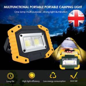 USB Rechargeable LED Work Light Portable Pocket COB Floodlight Inspection Lamps