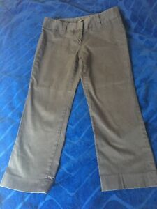 Stretch Black Color Size 12 JCrew City Fit Capri Pant Cotton