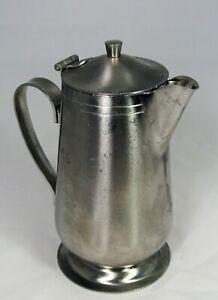 Vintage Brandware 18-8 Stainless Steel Thermal Carafe pot Japan 4-A