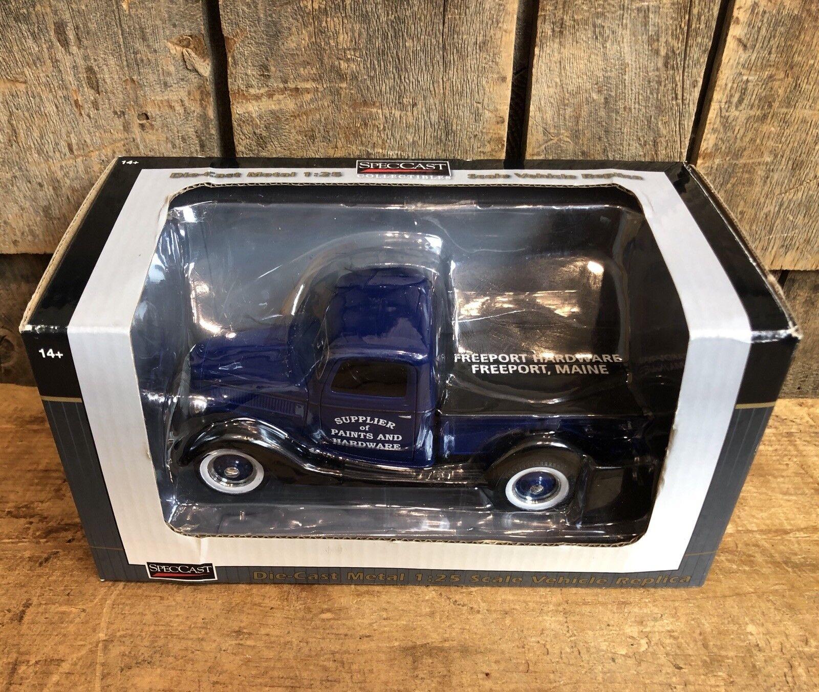Merveilleux specCast 1937 FORD GM Die cast voiture Freeport matériel nouveau dans la boîte de collection