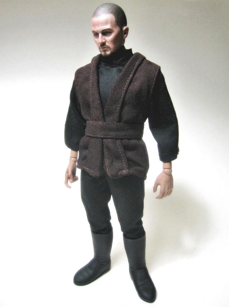 "1/6 STAR WARS Luke Skywalker Jedi Knight Hasbro Outfit for 12"" Sideshow Hot Toys on eBay thumbnail"
