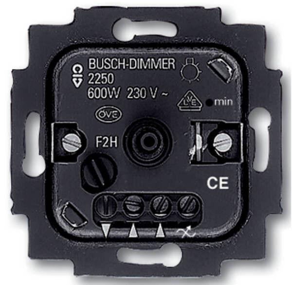 Busch-Jaeger Drehdimmer Dimmer 2250U Einsatz 60-600 Watt Unterputz