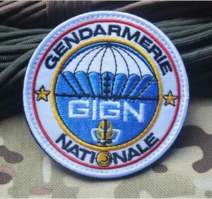 Gign France Gendarmerie Nationale Army Special Forces Embroidered Hook Patch Ebay