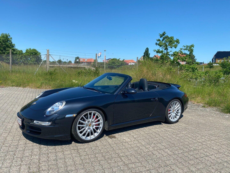 Porsche 911 Carrera S 3,8 Cabriolet 2d - 749.999 kr.