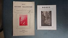 GUIDE TOURISTIQUE RODEZ AVEYRON + TARIF HOTEL AUTOBUS 1914