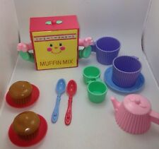 Vintage Mattel Cherry Merry Muffin Snack N Serve Muffin Mix Playset 93% Complete